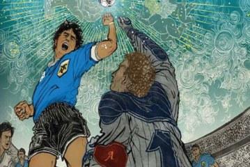 Ντιέγκο Μαραντόνα: Ένας.. θεός που σκοράρει όπως θέλει!