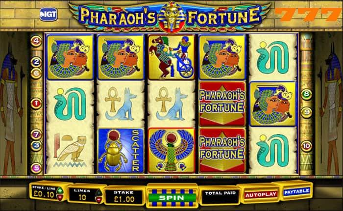 Casino777: Pharaoh Fortune!