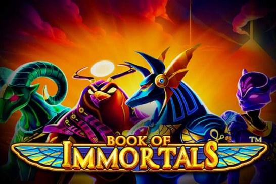 Book of Immortals στο Casino του Stoiximan!