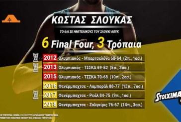 Stoiximan: Θα είναι ο Σλούκας ο MVP του Final Four;