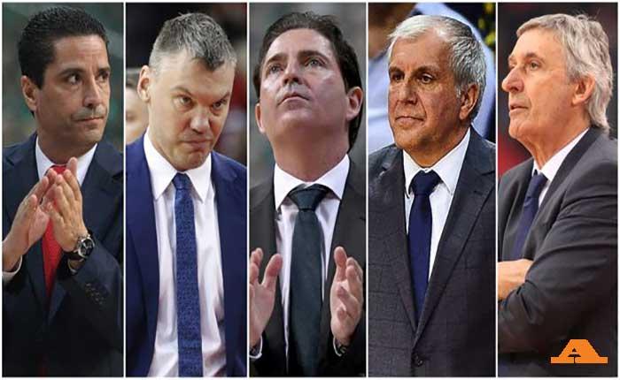 Ευρωλίγκα: Οι προπονητές που χάθηκαν στον χρόνο