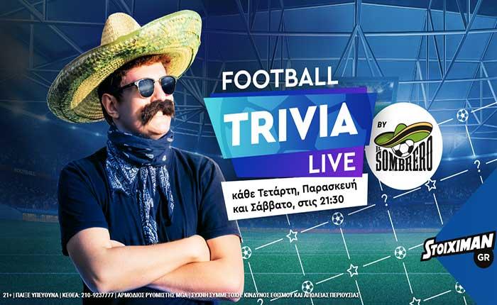 Football Trivia Live by El Sombrero!