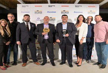 Bricktin Enterprises Ltd: Platinum και Gold βραβεία στα Sports Marketing Awards