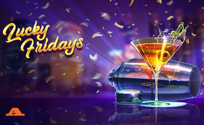 Το νέο Lucky Friday's εντυπωσιακό φρουτάκι στο καζίνο!