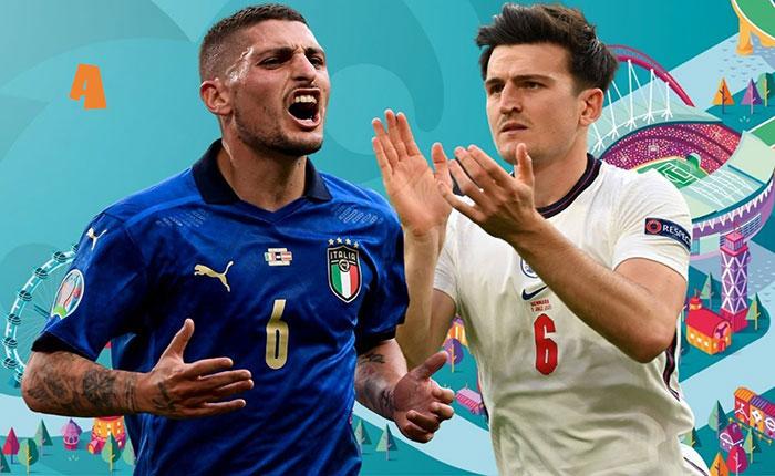 Ιταλία – Αγγλία στην τελική μάχη του Euro 2020!