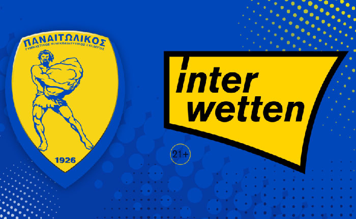 Interwetten: Επίσημος Χορηγός της ΠΑΕ Παναιτωλικός!